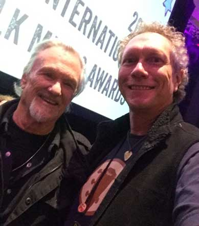 Kris Kristofferson with Dennis Warner - 2017